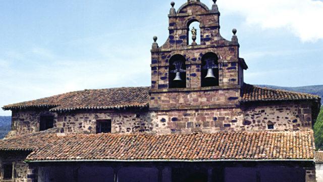 La iglesia parroquial de San Andrés de Valgañón