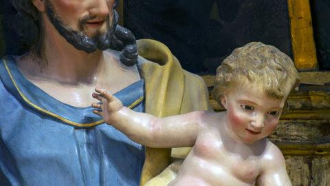 Unas imágenes de San José desconocidas de los Ágreda