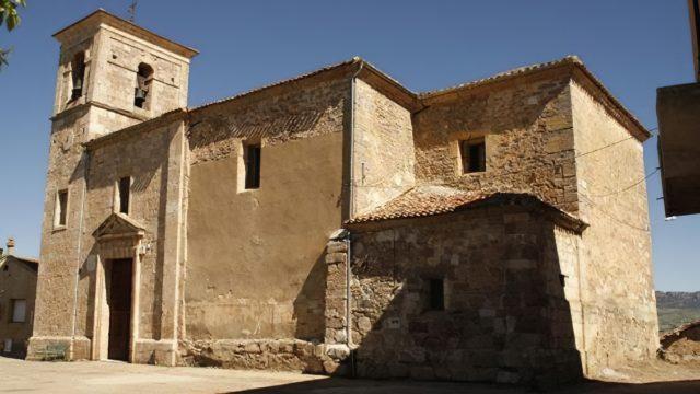 La iglesia parroquial de Nuestra Señora de la Asunción de Berzosa de Bureba